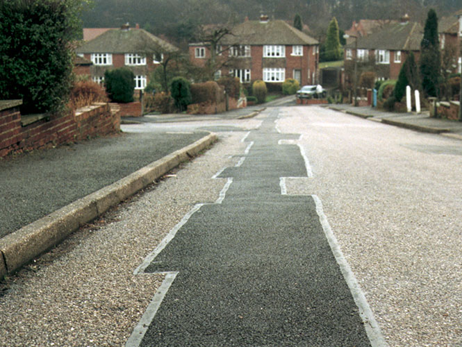 Premier Overbanding Tape used to seal cracks in road surfaces