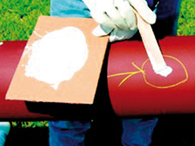 A Protal Repair Kit is used to repair a damaged area in the Protal coating.jpg