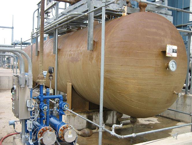 Steelcoat 100 applied to sweating ammonia tank.jpg