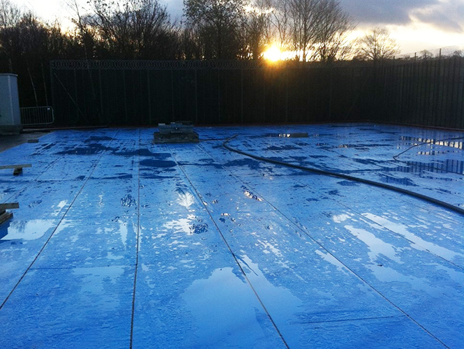 Premseal 100 LT for low temperature application to Reservoir roofs