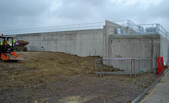 New Build Reservoir