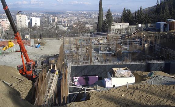 New Build Project: The British Embassy, Tbilisi, Georgia