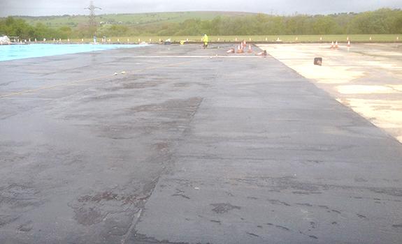 Felindre Reservoir Refurbishment Project, South Wales