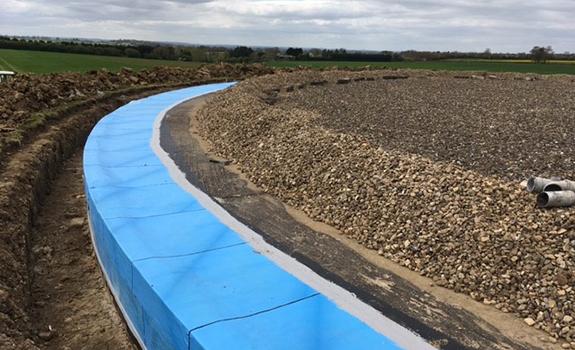 Greatworth Reservoir Edge Detail Refurbishment Project